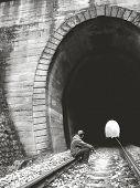 Et Ende einen Tunel