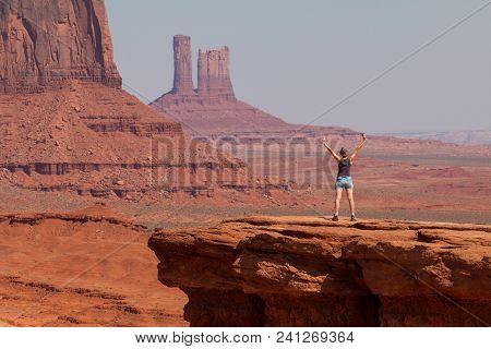 Girl At John Fords Point