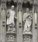 London - Westminster Abbey Facade