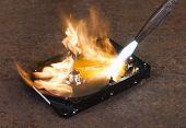 Burning A Hard Disk Drive