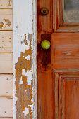 The Green Door Handle