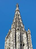 Top Of Ulm Minster (ulmer Muenster), Germany