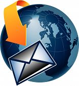 Email Globe 43958.Eps