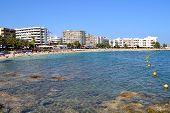 Santa Eularia des Riu Beach Ibiza, Spain