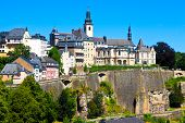 Luxembourg Skyline