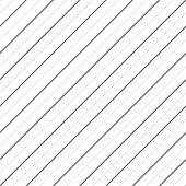 Vector Stripes Seamless Pattern. Thin Diagonal Lines Texture, 45 Degrees Inclination. Subtle Abstrac poster