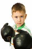 The Boy In Boxing Gloves