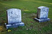 Husband And Wife Graves