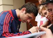 WARSAW, POLAND - JUNE 14: Alan Dzagoev (CSKA Moscow), Russian international association footballer s