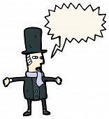 pic of gents  - cartoon victorian gent - JPG