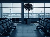 Waiting Room Airport poster
