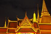 Temple Of The Emerald Buddha In Siam