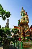 Giant at Wat Arun, Bangkok.