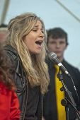 Universität von Exeter Seele Chor-Sänger führen Leben auf der Bühne der Weltgemeinschaft