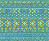 Peruvian American Indian Pattern Tribal Ethnic Motifs Geometric Vector Background. Chic Native Ameri poster