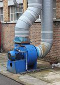Industrial extractor fan