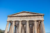 The Temple Of Hephaestus Or Hephaisteion Or Earlier As The Theseion A Well-preserved Greek Temple. I poster