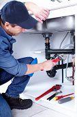 Professional plumber. Plumbing repair service.