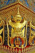 Golden Garuda or Krut in Wat Phra Kaeo , Bangkok