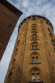 Copenhagen, Denmark: Rundetaarn Tower - Former Observatory - In Central Copenhagen. poster