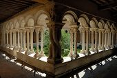 Cloister In Aix-En-Provence, France