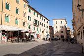 Cavour Square, Portoferraio, Elba Island