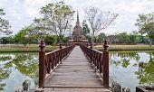Parque histórico Sukhothai, Tailandia