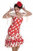 Flamenca andaluza