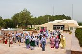 Schoolchildren At The Pakistan Monument, Islamabad