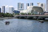 Singapore River Esplanade Theatre
