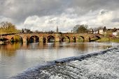 Devorgilla Bridge over the River Nith in Dumfries