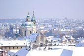 Prague At Winter