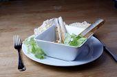 Razor Fish And Salad