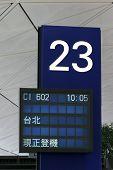 To Taipei, Aboarding