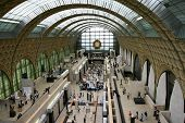 Inside Musee Orsay Museum