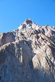 picture of potash  - Perspective view of the salt mountain in Cardona - JPG