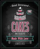 foto of fancy cake  - Cakes Poster  - JPG
