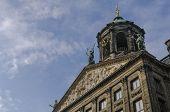 Royal Palace (koninklijk Paleis) Of Amsterdam, Netherlands