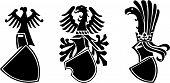 The Vector Medieval Heraldic Shield