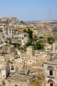 Matera View Basilicata Italy