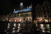 Brussels, Bruxelles At Night