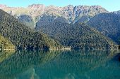 Abkhazia, Lake Riza