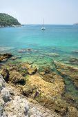 View of Yanui Beach bay, Phuket, Thailand.