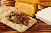 Olive Brushchetta With Crackers