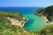 Estuary Tina Minor, Nansa River Mouth. Cantabria.