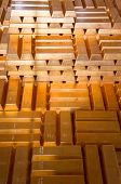 Stacks of Gold Bars