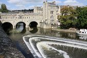 picture of avon  - BATH SOMERSET ENGLAND UK. - AUGUST 31ST 2010