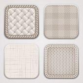 Organic Textile Squares