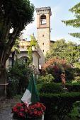Garden By The Old Prison (sant'agata) Citta Alta, Bergamo, Lombardy, Italy