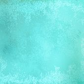 Grunge paper blue background